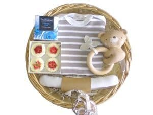 Little Robin Baby Gift Basket by Mulberry Organics