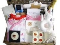 Mummy and Little Princess Girl Baby Gift Basket