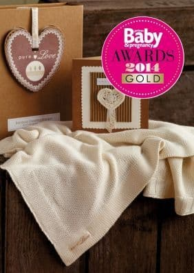 Pure Love Greeting Blanket Baby Gift