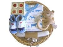 The Big Ship Boy Baby Gift Basket