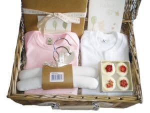 Twinkle Twinkle Girl Baby Gift Hamper by Mulberry Organics