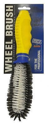 Alloy Wheel Cleaning Brush With Strong Bristles