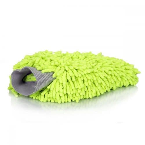Chemical Guys Green Wash Mitt Chenille Microfibre