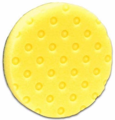 "Lake Country CCS Yellow DA Foam Polishing Pad 6.5"" Heavy Firm Cutting Compound"