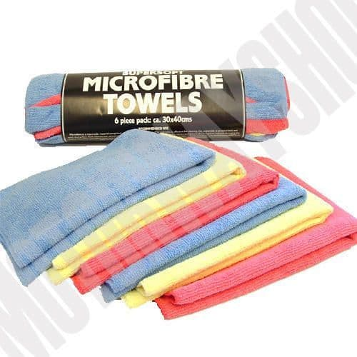 Microfibre Cloth Bundle 6 Pack