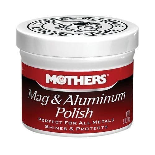Mothers Mag & Aluminium Polish For All Metal Types (141g)