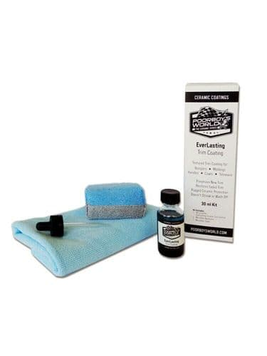 Poorboys Everlasting Ceramic Trim Coating Kit 30ml