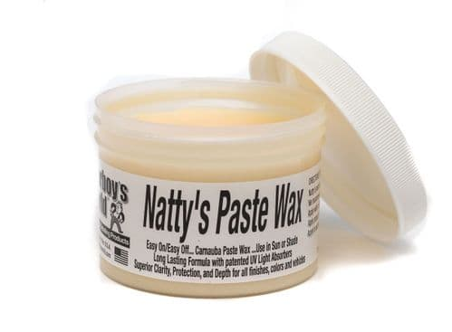Poorboys Natty's Paste Wax Carnauba White