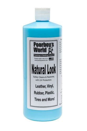 Poorboys Natural Look LARGE (946ml) Interior Dressing