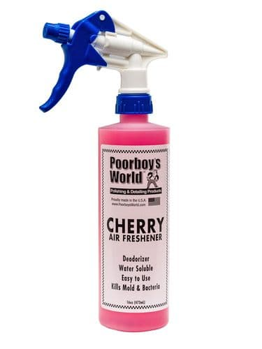 Poorboys Spray Air Freshener Cherry Scent 473ml