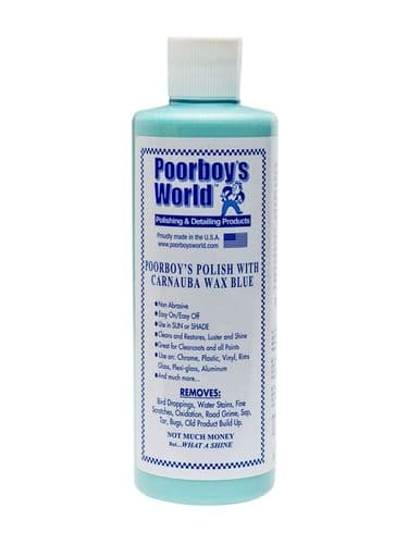 Poorboys World Polish With Carnauba Wax Blue 473ml