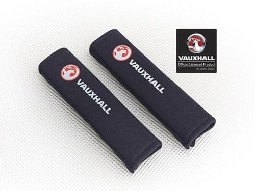 Vauxhall Car Seatbelt Pads With Logo