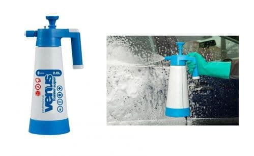 Venus Snow Foam Hand Sprayer 2 Litre Pump Action Pressure Spray Kwazar Foamer