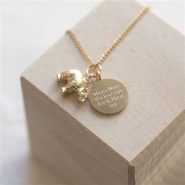 Mama Bear Personalised Necklace