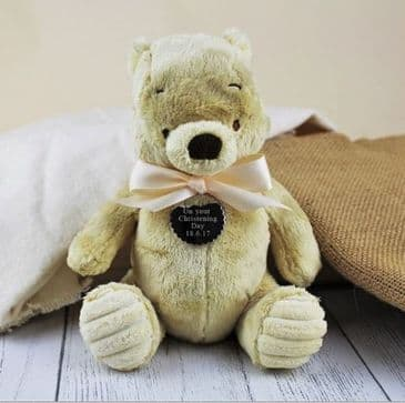 Personalised Classic Winnie The Pooh Plush Toy