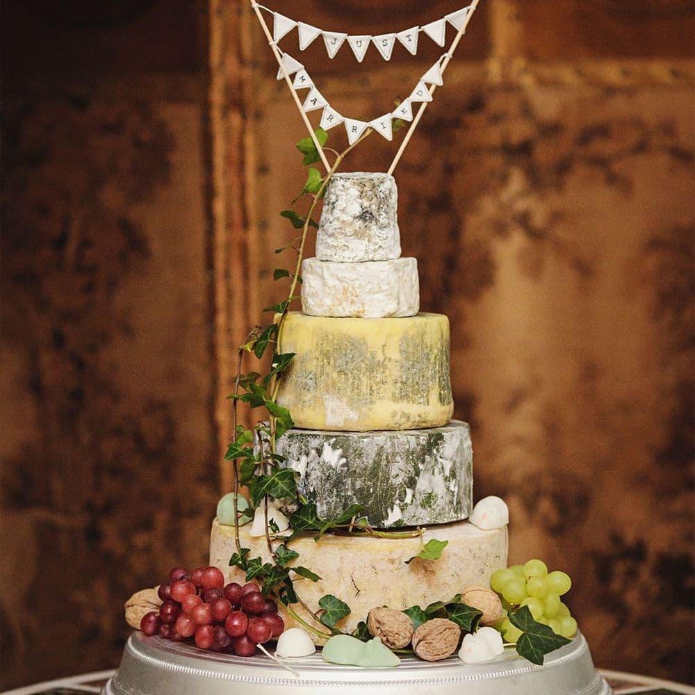Connie Wedding Cheese Cake, 7.8kg Cheese tower