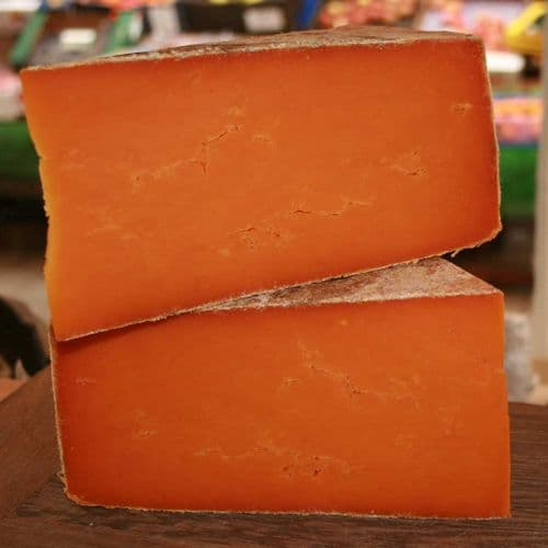 Red Leicester (Sparkenhoe) Cheese, Gentle British hard cheese