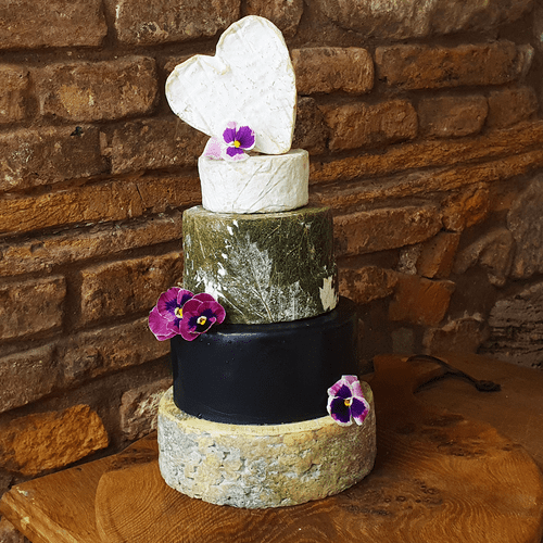 Annelise Wedding Cheese Cake, 4.4kg small cheese tower.