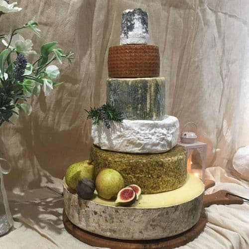 Catelyn Wedding Cheese Cake, 16.1kg wedding cheese tower.