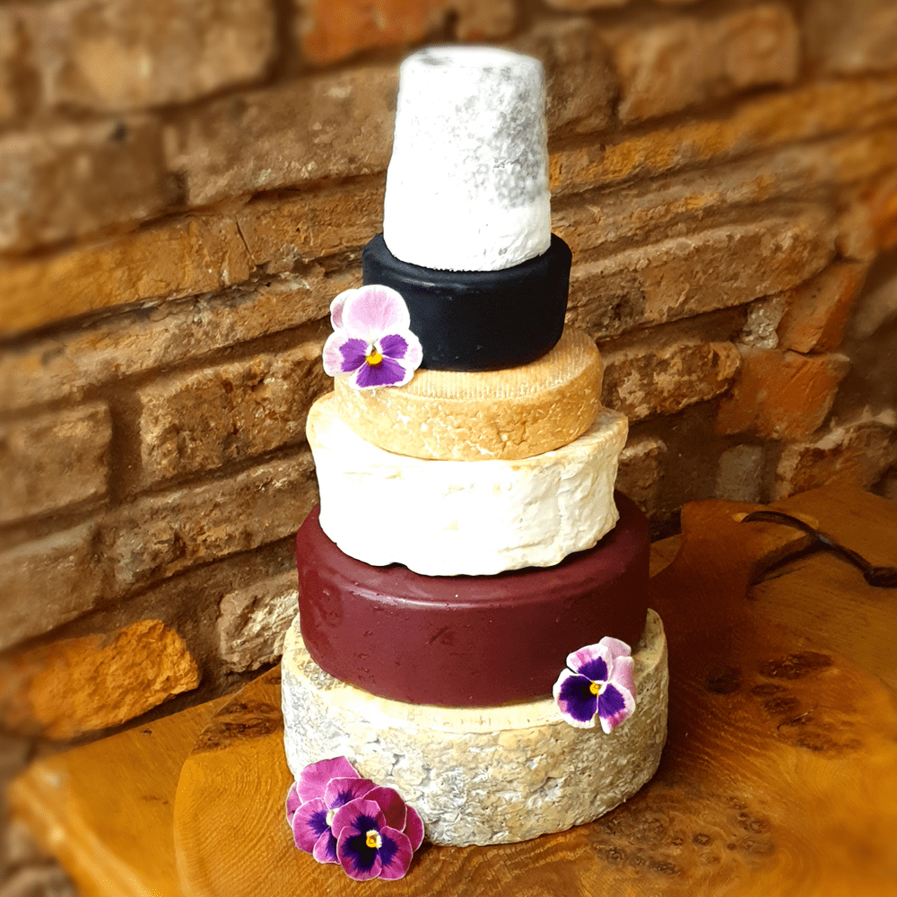 Elizabeth Cheese Wedding Cake , 3.75kg small party cheese stack