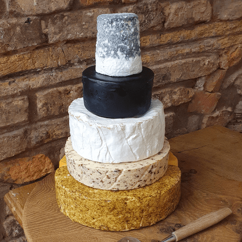 Evie wedding cheese stack, 4.6kg party cheese tower