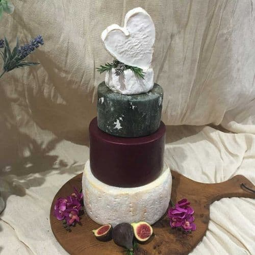 Mia Wedding Cheese cake 5.9kg wedding cheese tower