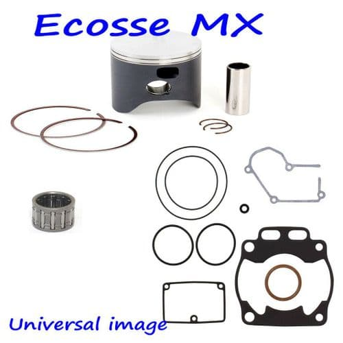 KTM EXC250 2007-2016 Wossner Forged Piston Kit Size A 66.34 With Small End Bearing And Gasket Kit