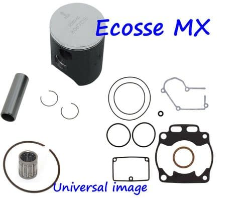 Suzuki RM125 1989 Wossner Forged Piston Kit Size A 53.95 With Small End Bearing And Gasket Set