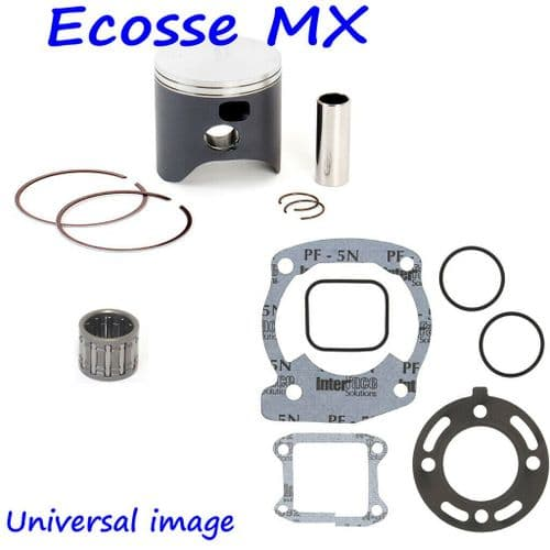 Suzuki RM250 1989-1990 Wossner Forged Piston Kit Size B 66.95 With Small End Bearing And Gasket Set