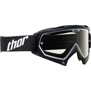 Thor Black Enemy Kids Youth Goggles CLEAR LENS