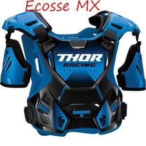 Thor Guardian Youth Body Armour Black/Blue