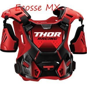 Thor Guardian Youth Body Armour Black/Red