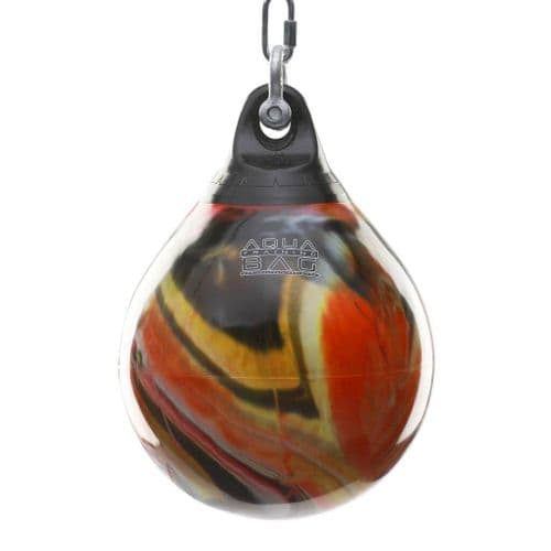 "Aqua Punching Bag 15"" - Fireball Orange 75lbs"