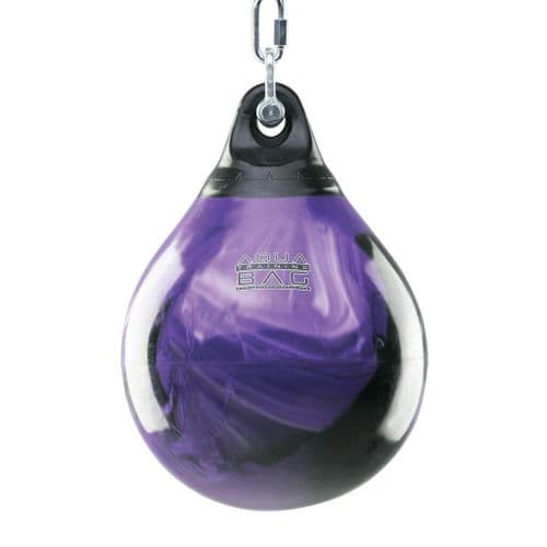 "Aqua Punching Bag 15"" - Purple Crush 75lbs"