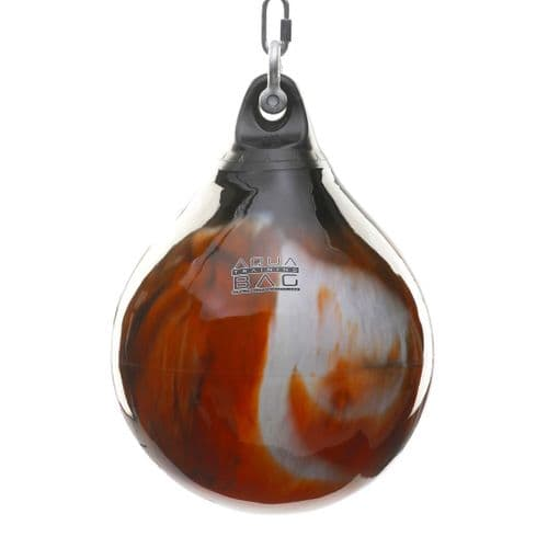 "Aqua Punching Bag 18"" - Fireball Orange 120lbs"