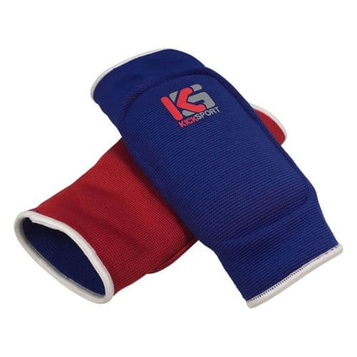 Kicksport Elbow Pads Reversible Red/Blue