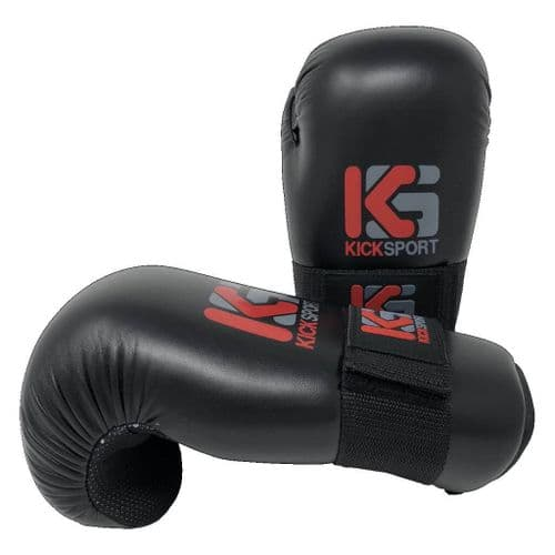 "Kicksport Point Fighter Gloves ""Fight"" Black"