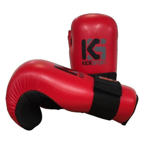 "Kicksport Point Fighter Gloves ""Fight"" Red"