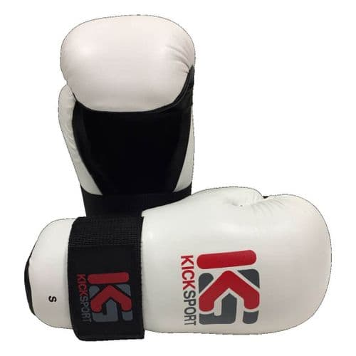 "Kicksport Point Fighter Gloves ""Fight"" White"