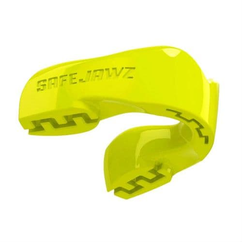 SafeJawz Intro Mouth Guard Fluro Yellow