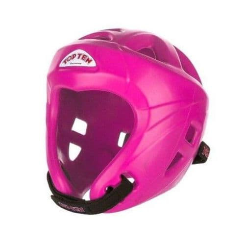 TOP TEN Avantgarde Head Guard Neon Pink