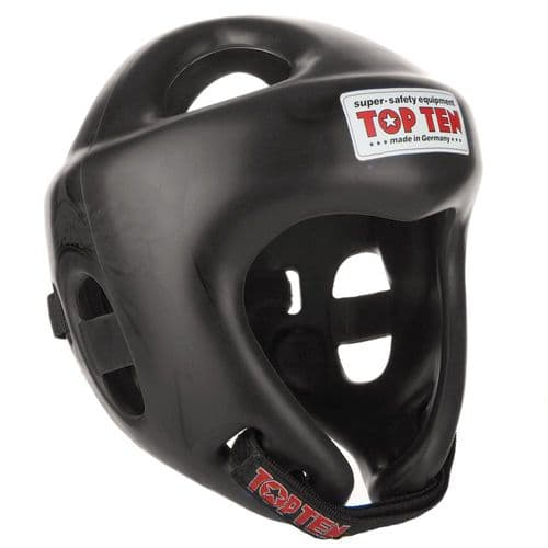 TOP TEN Fight Head Guard Black