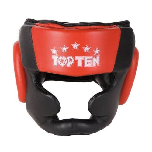 TOP TEN Head Guard Boxing/Sparring with Chin Guard