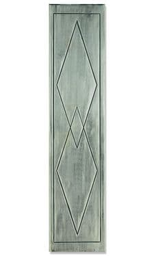 Art Deco Fireplace Panel Full Polish