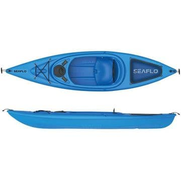 DELUXE SIT IN KAYAK CANOE BLUE 1004 seat-hatch-storage net-cup holder COLLECT