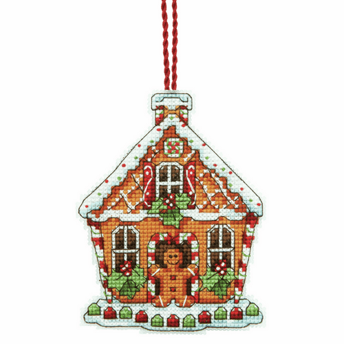 Dimensions Gingerbread House Christmas Ornament