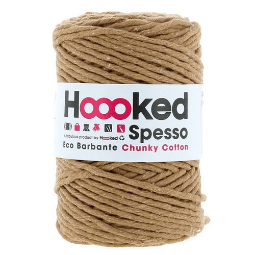 Hoooked Spesso Chunky Cotton Macrame Cord 5mm, 500g - Teak Brown