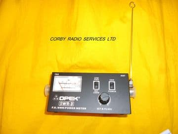 OPEK SWR-3 SWR/POWER/ANTENNA FIELD STRENGTH METER