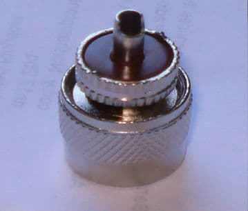 PL259 PLUG - 6 mm FOR  CB &  2 WAY RADIO FITS RG58 CABLE