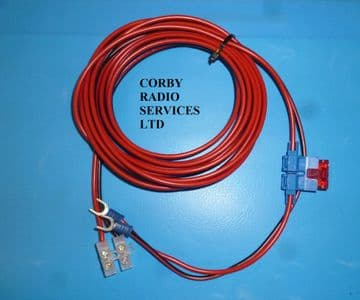 RADIO REFIT KIT 15 amp 5 MTS FOR TWO WAY HEAVY DUTY INLINE FUSED LEADS